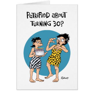 Women's 30th Birthday Card Humor