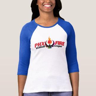 Women's 3/4 Sleeve Raglan (Phoenix Fire) T-Shirt