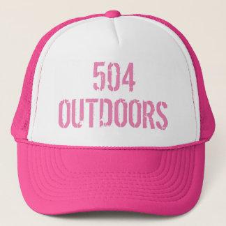 Women's 504 outoors trucker cap