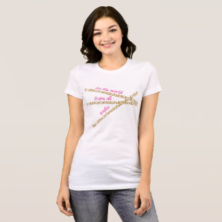Women's Abstract See The World Jersey T-shirt