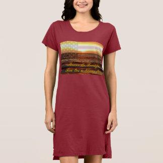 Women's America Beautiful Apparel T-Shirt Dress