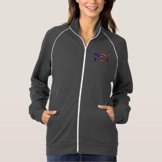 Women's American Apparel Cali Fleece Track Jacket