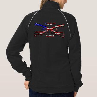 Women's American Apparel California Fleece Track J Jacket