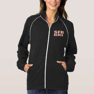 Women's American Apparel California Fleece Track Jacket