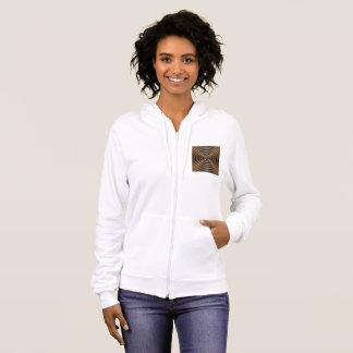 Women's American Apparel California Fleece Zip Hoo Hoodie