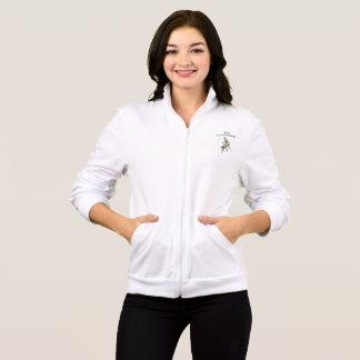 Women's American Apparel California Fleece Zip Jog