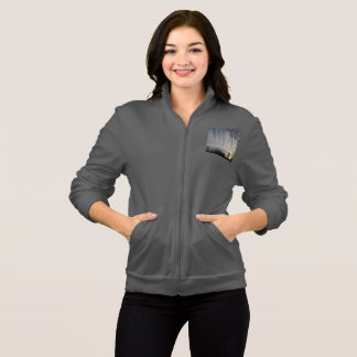 Women's American Apparel California Fleece Zip Jog