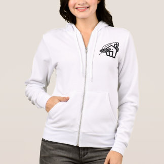 Women's American Apparel Flex Fleece Zip Hoodie