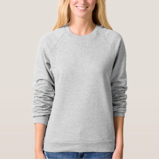 Women's American Apparel Raglan Sweatshirt 5 color