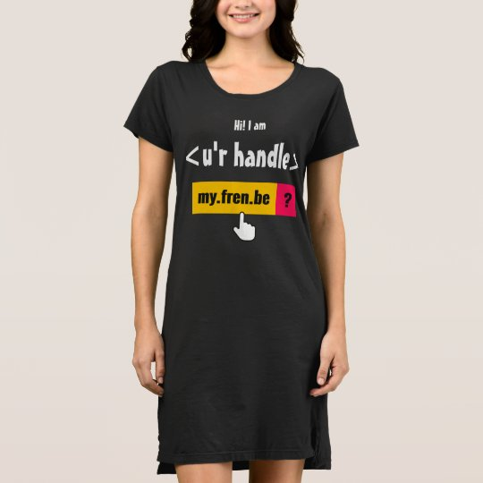Women's American Apparel T-Shirt Dress