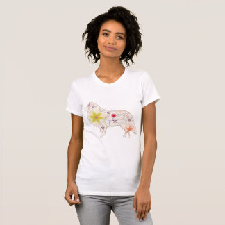 Women's  Apparel Fine Jersey T-Shirt CollieVintage
