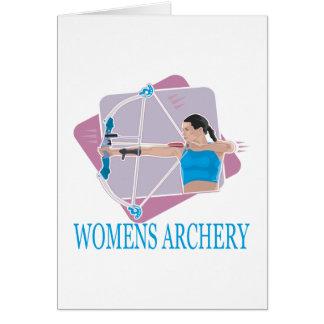 Womens Archery 2 Card