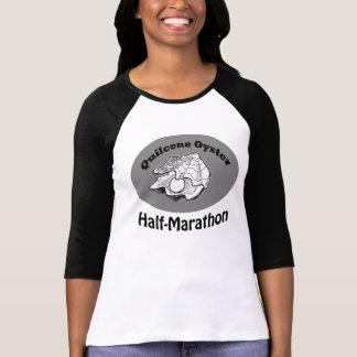 Women's baseball sleeve Quilcene Half-Marathon tee