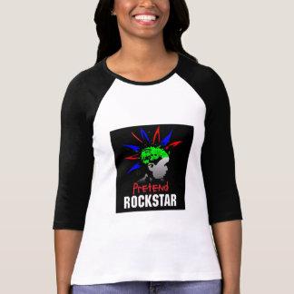 Women's baseball style sleeved tshirt
