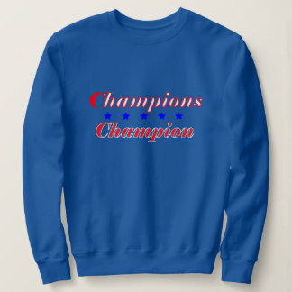 Women's Basic Deep Royal Sweatshirt w/CC logo
