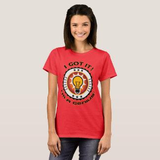 Women's Basic Display your Genius T-Shirt