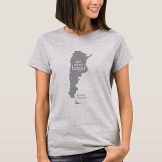 Women's Basic Grey T-Shirt ARGENTINA
