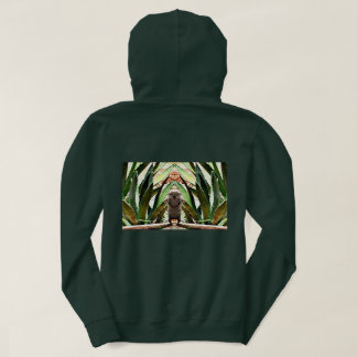 "Women's Basic Hoodie ""The King"" Ground Squirrel"