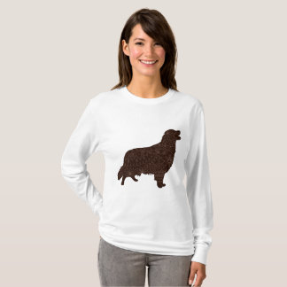 Women's Basic Long Sleeve T-Shirt with retriever