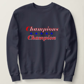 Women's Basic Navy Sweatshirt w/CC logo