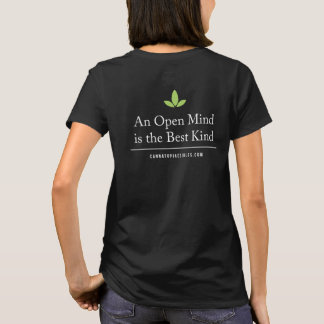 Women's Basic Open Mind Back Tee