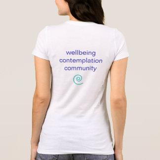 Women's Basic Spiral Path Yoga T-Shirt