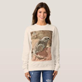 """Women's Basic Sweatshirt """"Ground Squirrel"""""""