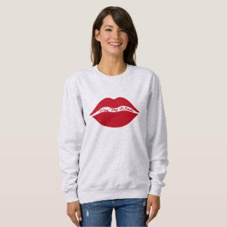 Women's Basic Sweatshirt - Kiss My Wheels