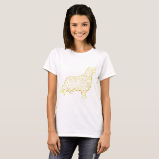 Women's Basic T-Shirt Golden retriever