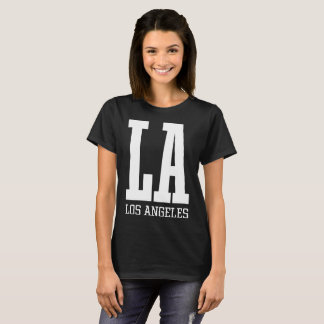 Women's Basic T-Shirt LA Los Angeles Athletics