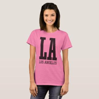Women's Basic T-Shirt LA Los Angeles Athletics