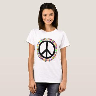 Women's Basic T-Shirt - peace symbol