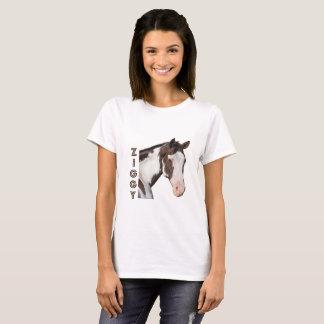 Women's Basic T-Shirt With Ziggy