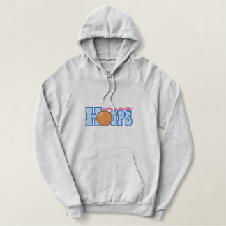 Women's Basketball Embroidered Hoodie