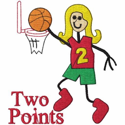 Womens Basketball Embroidered Shirt