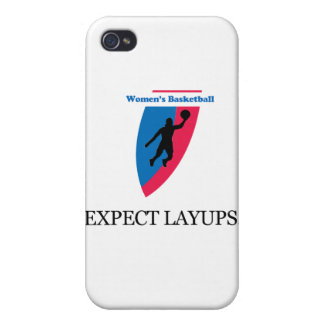 Women's Basketball iPhone 4 Cases