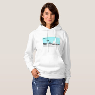 Women's Beach Bum Life Basic Hooded Sweatshirt