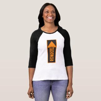 Womens Bella+Canvas 3/4 Sleeve Detour T-Shirt