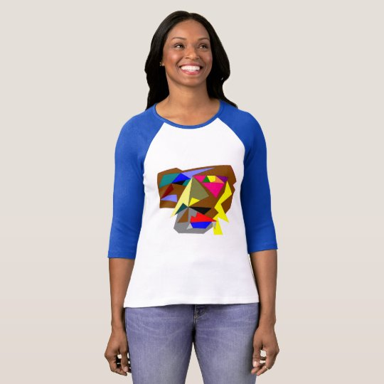 Women's Bella+Canvas 3/4 Sleeve T-Shirt