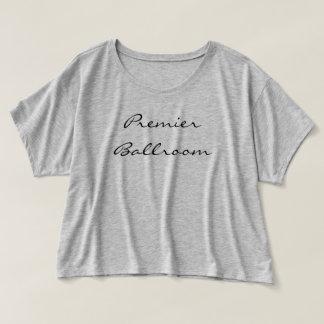 Women's Bella Canvas Boxy Crop Top T-Shirt