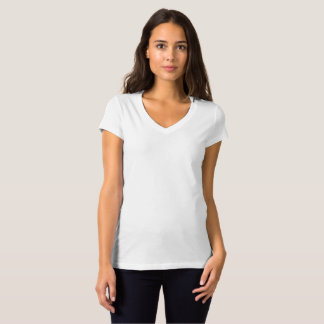Women's Bella Jersey V-Neck T-Shirt