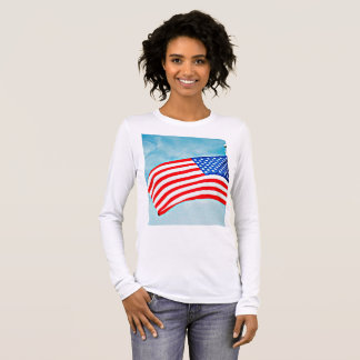 "Women's Bella  Tee Shirt ""God Bless America"""