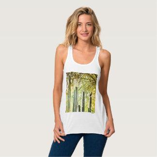 Women's Bella Vee Neck Tee Shirt