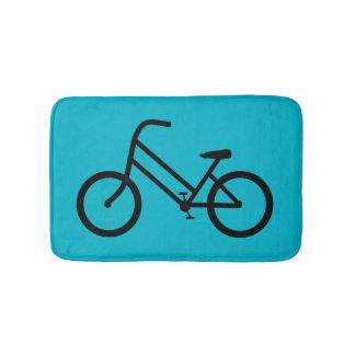 Women's Bicycle Bathroom Mat
