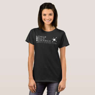 Women's Black and White T-shirt
