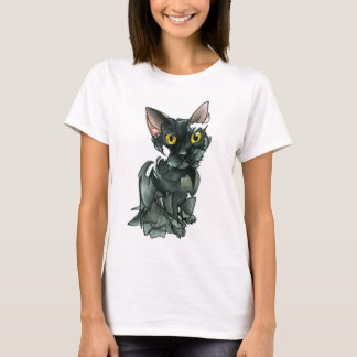 Women's Black Cat T-shirt