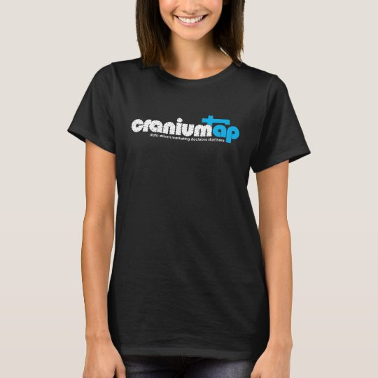Women's Black CraniumTap T-Shirt