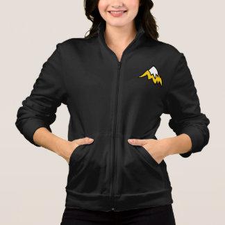 Women's Black Fleece Jacket