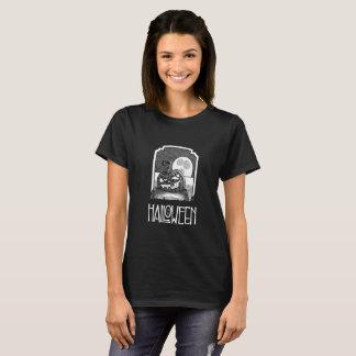 Women's Black Halloween T-shirt