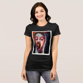 Women's Black Sinner Tshirt